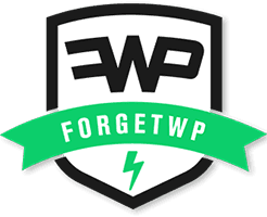 ForgetWP Logo Retina
